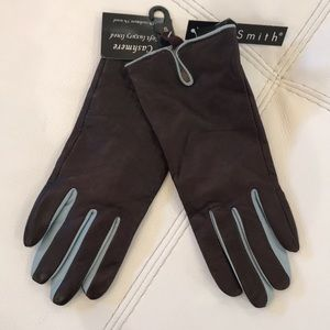 NWT leather gloves